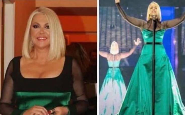 Η ομοιότητα της Ρούλας Κορομηλά με την τραγουδίστρια των Σκοπίων – Newsbeast