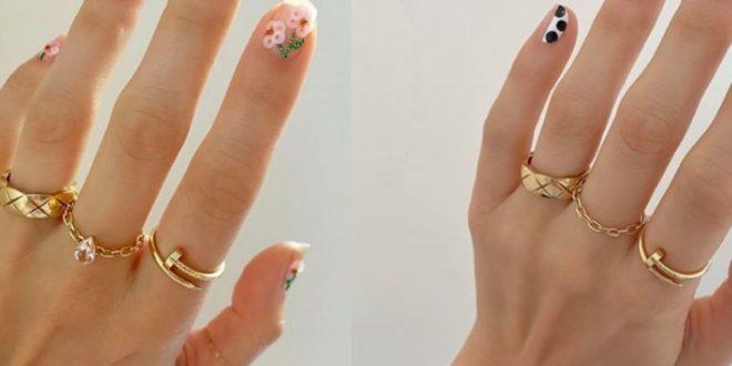 Θες να ξεχωρίσεις; 4 σούπερ ιδέες για ανοιξιάτικα σχέδια στα νύχια