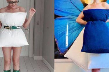#pillowchallenge. Οι celebrities κάνουν... μόδα το μαξιλάρι στη μέση!