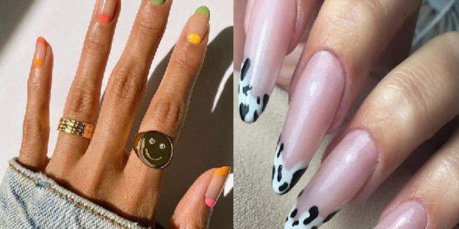 Γαλλικό μανικιούρ. 12 χρωματιστές παραλλαγές για εντυπωσιακά νύχια!