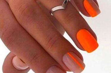 Πορτοκαλί νύχια. Το πιο δροσερό χρώμα για το καλοκαιρινό σου μανικιούρ!