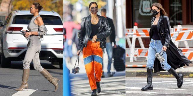 """Το style της Irina Shayk κατα την διάρκεια του lockdown, μας κάνει να θέλουμε να """"ντυθούμε"""" - BORO από την ΑΝΝΑ ΔΡΟΥΖΑ"""