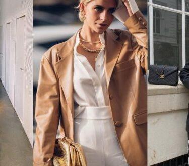 Δερμάτινο σακάκι: Κομμάτι κλειδί της ανοιξιάτικης γκαρνταρόμπα σας - BORO από την ΑΝΝΑ ΔΡΟΥΖΑ