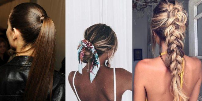 """Bad hair days: Τα 5 χτενίσματα που κυριολεκτικά θα σας """"λύσουν"""" τα χέρια - BORO από την ΑΝΝΑ ΔΡΟΥΖΑ"""