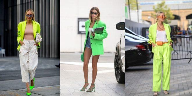 Πράσινο Neon Σακάκι: Η απόλυτη τάση του καλοκαιριού. - BORO από την ΑΝΝΑ ΔΡΟΥΖΑ