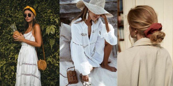 5 fashionable αξεσουάρ μαλλιών ιδανικά για το καλοκαίρι (τα οποία θα συνεχίσετε να βλέπετε παντού ακόμη και το φθινόπωρο). - BORO από την ΑΝΝΑ ΔΡΟΥΖΑ